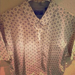 Men's short sleeved print shirt